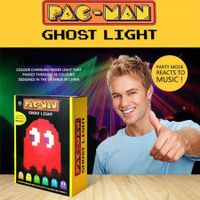 Pac-man USB 8-bit Pixel Style Multi-color Changing Ghost Lamp