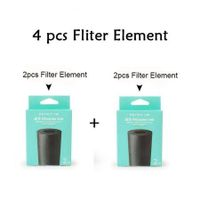 "Fliter For HQBN-0050 ""PET 400ml Portable Travel Cups"" x4"
