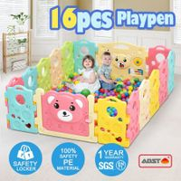 16 Sided Panel Baby Playpen Interactive Baby Room