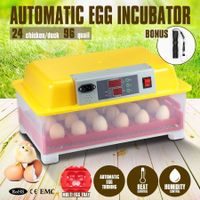 LED Panel Operated Automatic Egg Incubator