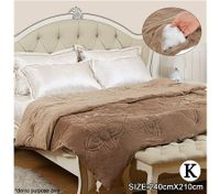 Reversible Mink Blanket/Winter Quilt King Size