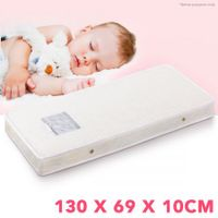 Hypoallergenic Baby Cot Mattress with Breathable Foam