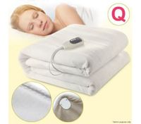 Queen-Size Electric Heated Fleece Velvet Blanket