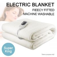Fitted Electric Blanket - Super King Size