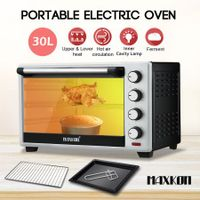 Maxkon 30L Portable Oven Electric Convection Baker Toaster