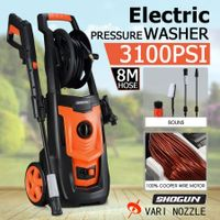 Electric High Pressure Washer Water Cleaner Sprayer with 8-Metre Hose & Complete Accessories