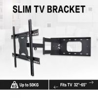 "32""-65"" TV Brackets Full Motion TV Wall Mount Secure Steel 180 Degrees Swivel TV Wall Mount Bracket"