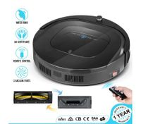 MAXKON  12-in-1 Automatic Robot Vacuum Cleaner with Interchangeable Roller Brush Kit & & Suction Kit