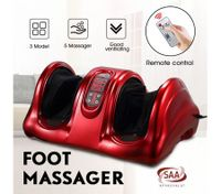 Foot Ankle Calf Massager Foot Circulation Machine - Red