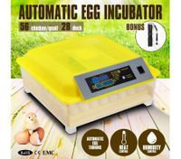 Automatic Egg Incubator with Clear Cover