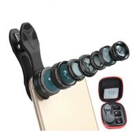7 In 1 Fish Eye Wide Angle Macro Camera Lens For Phone