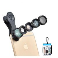 5 In 1 Fisheye Wide Angle Macro Lens For Mobile Phone