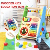 Wooden Kids Toys Toddler Children Push Toys Activity Educational Toys