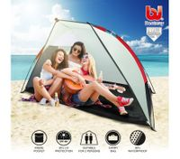 Bestway 2 Person Hiking Camping Beach Easy Up Outdoor Tent w/Carry Bag