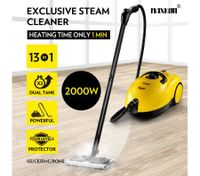 Maxkon 3.4L Commercial Home High Pressure Steam Cleaner Mop Carpet Floor Window