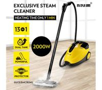 Maxkon 2.1L High Pressure Carpet Floor Window Steam Cleaner Mop