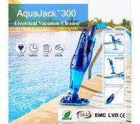 AquaJack Professional Swimming Rechargeable Cordless Electric Pool Cleaner Auto Inground Robotic