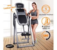Genki Inversion Table Folding Gravity 4 Position Safety Spin