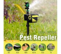 Maxkon Motion Activated Sprinkler Solar Powered Pest Repeller Garden Animal Deterrent