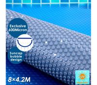 600 Micron 8M x 4.2M Solar Outdoor Swimming Pool Cover Blanket