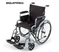 eQuipMed Folding Wheelchair Light Weight Wheel Chair