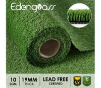 Edengrass 10-40SQM 12/17/19mm Artificial Grass Synthetic Turf Fake Lawn