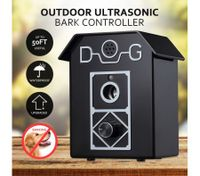 Ultrasonic Dog Puppy Outdoor Stop Barking Anti Bark Control System Device