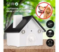 Dog Puppy Ultrasonic Stop Barking Outdoor Anti Bark Control System Device