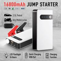 400A Peak 16800mAh Portable Jump Starter Battery Charger for Cars Phones