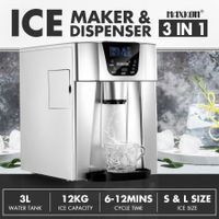 Maxkon 3L Portable Bullet Ice Maker Machine Water Dispenser Home Commercial Fast Freezer