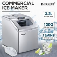 Maxkon 3.2L Portable Ice Cube Maker Machine Home Commercial Fast Benchtop Freezer