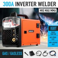 New ARC 300Amp Inverter Welder MIG / MAG / MMA Welding Machine DC IGBT Stick Tool