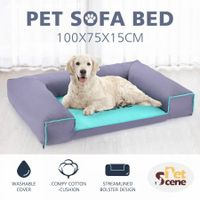 Pet Bed Mattress Dog Cat Pad Foam Mat Cushion Lining Washable XL