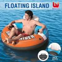 Bestway Swimming Pool Floats Inflatable Tube Single Lounger Towable Raft 135CM