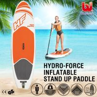 Bestway 2.74M Stand Up Paddle Board Inflatable Paddleboard Surfing SUP Kayak W/Oar