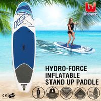 Bestway 3.05M Stand Up Paddle Board Inflatable Paddleboard Surfing SUP Kayak W/Oar