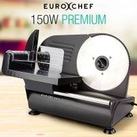 Eurochef 19cm Meat Slicer MS19B - Black