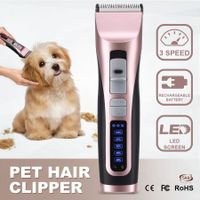3 Speed Pet Clipper Professional Animal Dog Cat Grooming Hair Trimmer Kit