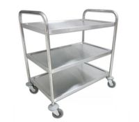 3-Tier Stainless Steel Kitchen Trolley