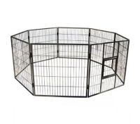 Portable Eight Panel Foldable Metal Pet Exercise Playpen for Dogs / Cats / Rabbits / Guinea Pigs / Ferrets - XY-10163