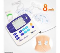 Digital Therapy TENS Massager Machine w/8 Pads + Acupuncture Pen