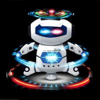 Kids Electronic Walking Dancing Robot with Music Light Fun Toy