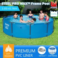 Bestway 3.05M Above Ground Metal Frame Swimming Pool