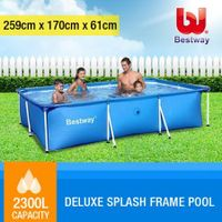 BESTWAY Deluxe Splash Frame Large Outdoor Pool