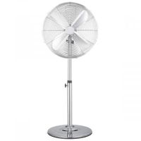 Digilex 45cm Metal Chrome Pedestal Fan