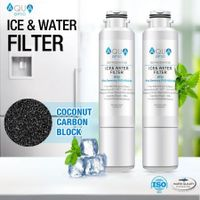 Samsung Refrigerator Water Filter DA29-00020B HAF-CIN/EXP 46-9101 Water Filter, 2-Pack