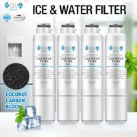 Aqua Optio Replacement Refrigerator Water Filter for DA29-00020B HAF-CIN/EXP 46-9101 Water Filter, 4-Pack