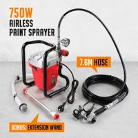 SHOGUN 750W Airless Paint Sprayer Electric Painting Machine Home Indoor 1.2L/Min