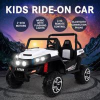New 12V Kids Ride-On Car 2 Seats Off-road Vehicle 2 Motors W/2.4G Remote Control