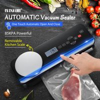 Maxkon Automatic Vacuum Sealer Food Saver Machine With Kitchen Scale Free Bags Roll